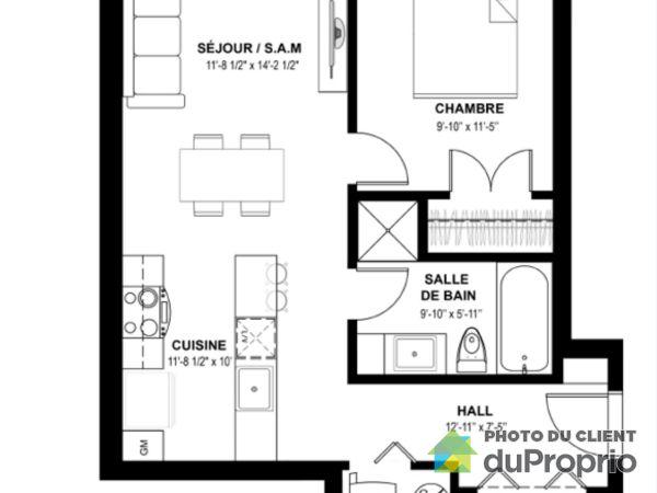 101-7215 boulevard Saint-Michel, Villeray / St-Michel / Parc-Extension for rent