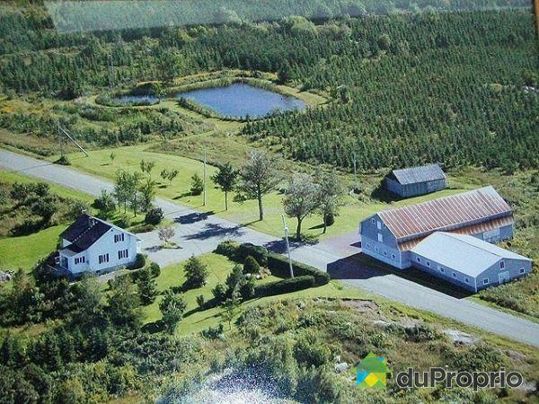 Aerial View - 140 7 rang Ouest, St-François-Xavier-De-Viger for sale