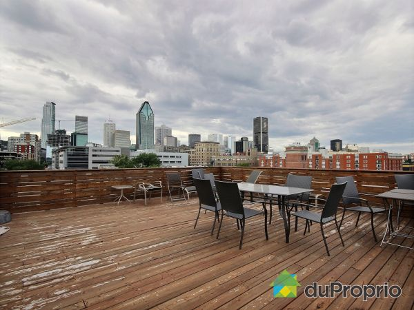 Roof terrace - 205-240 rue Murray, Griffintown for sale