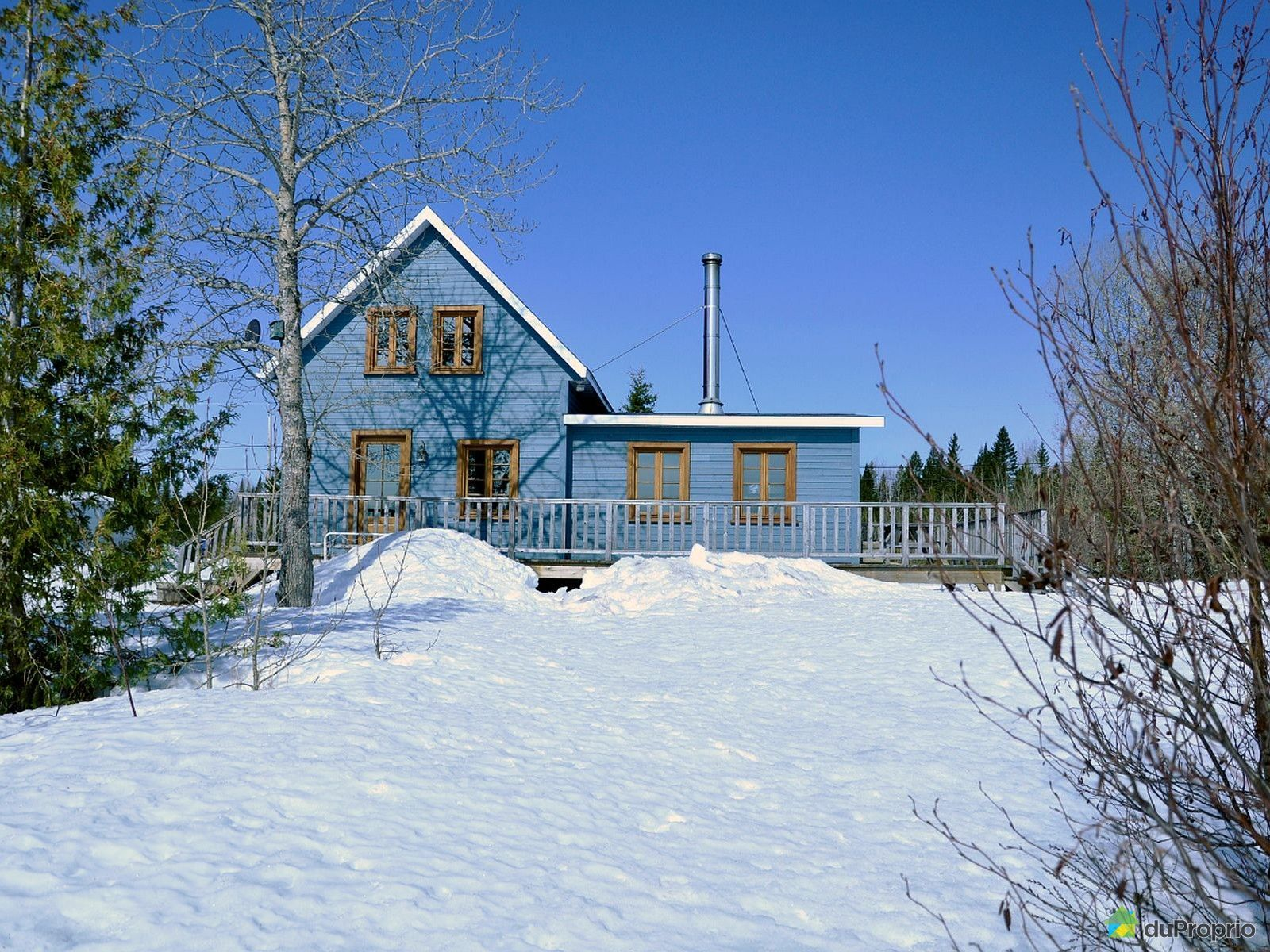 Winter Front - 111 chemin du Lac Noir Nord, St-Marcellin for sale