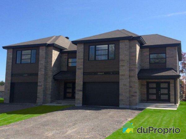 2465, boulevard Hamelin -  Modèle Castello - Par Construction D.M. Turcotte, Trois-Rivières (Trois-Rivières) à vendre