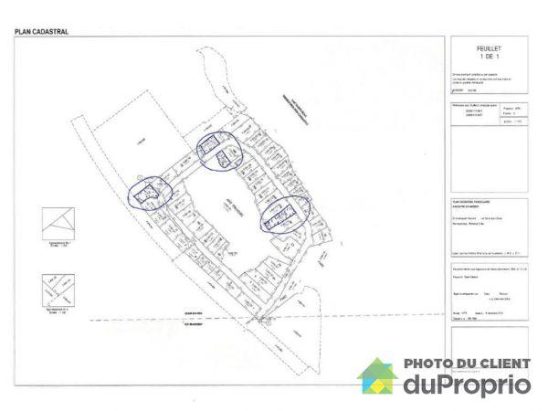 Plan -  Domaine Lévesque, Roberval for sale
