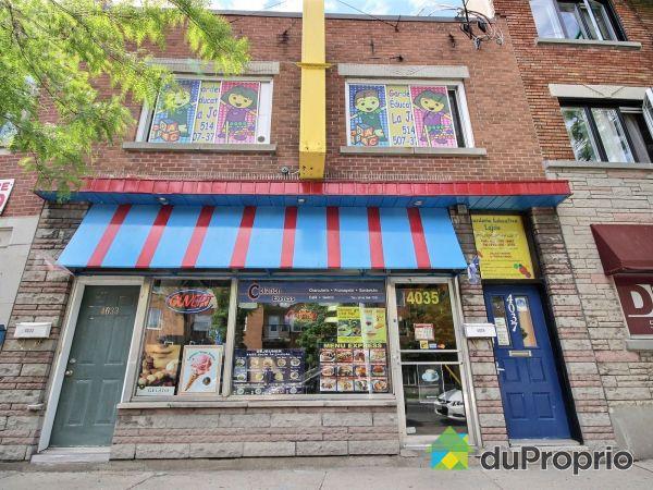 4035, rue Beaubien, Rosemont / La Petite Patrie à vendre