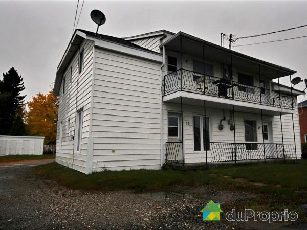 Buildings - 37-39-41-43, rue Tremblay, St-Ambroise for sale