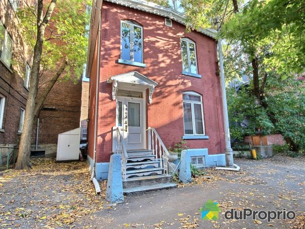 3562, rue Durocher, Le Plateau-Mont-Royal à vendre