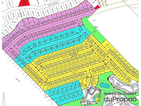 Plan - Secteur Roc-Pointe, St-Nicolas for sale