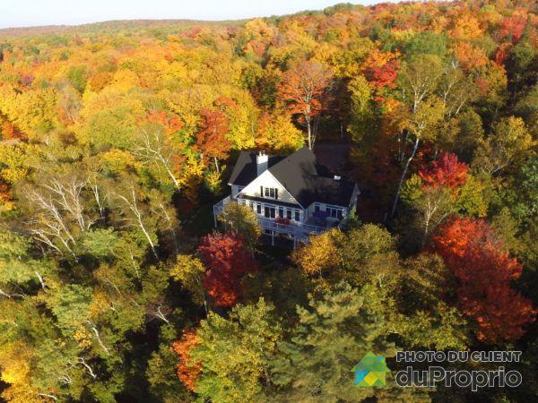 Aerial View - 530 5e Avenue Est, Lac-Aux-Sables for sale