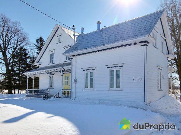 Winter Front - 2131 rang Philibert, Ste-Ursule for sale