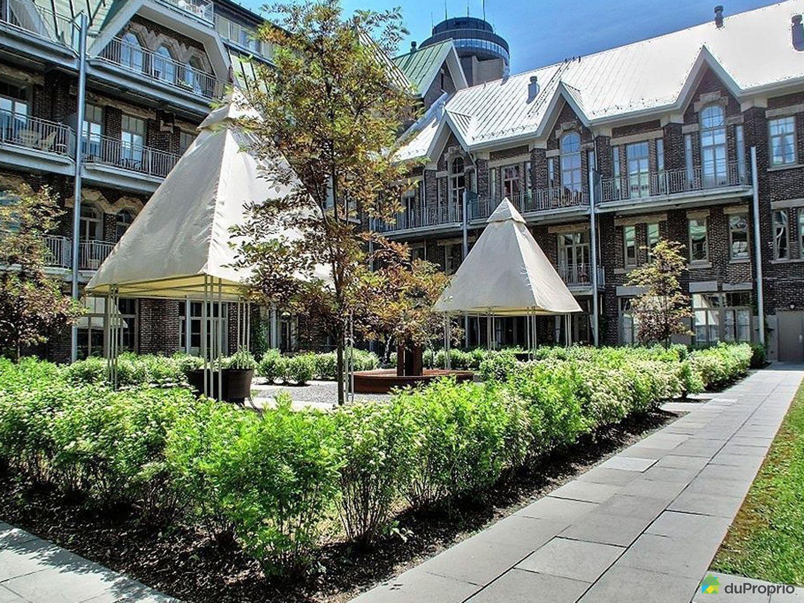 Courtyard - 309-545 rue Jacques-Parizeau, Vieux-Québec for sale