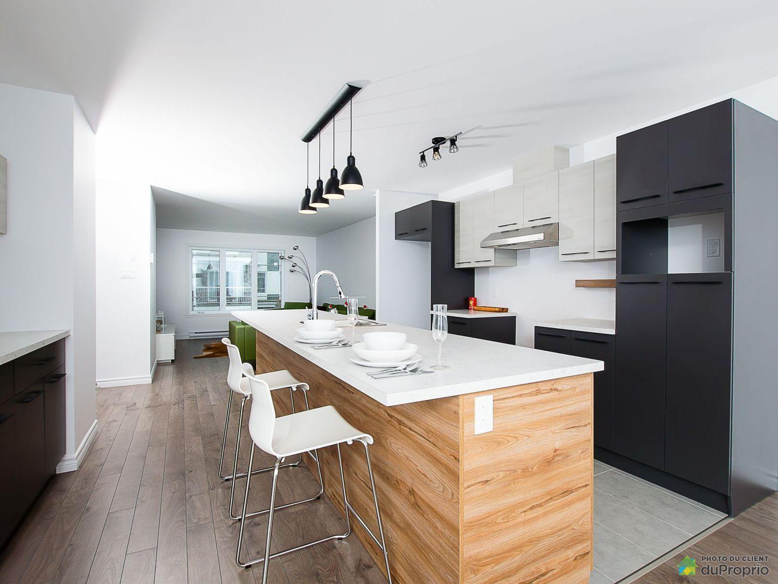 Kitchen - 331 avenue du Sous-Bois - Condo le Littoral PHASE 3 - Par Habitation Canadienne, Beauport for sale