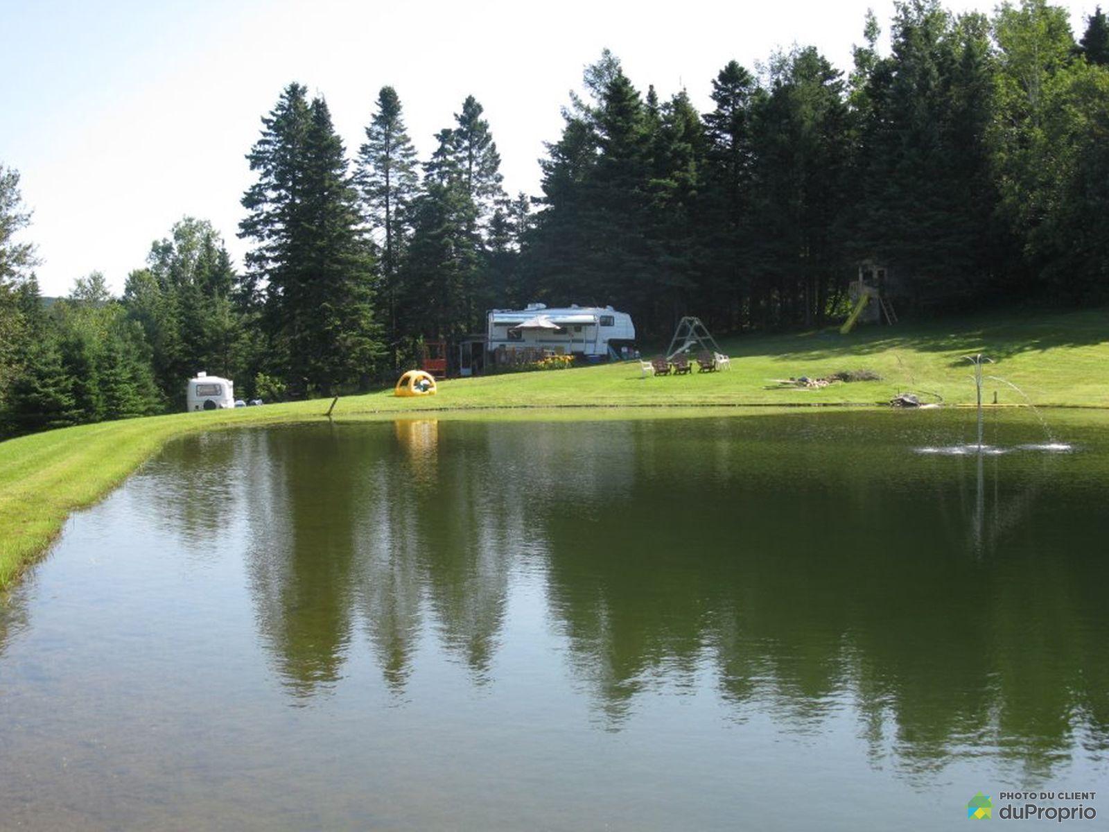 Lac - , rue Saint-Pierre, St-Pierre-De-Broughton à vendre