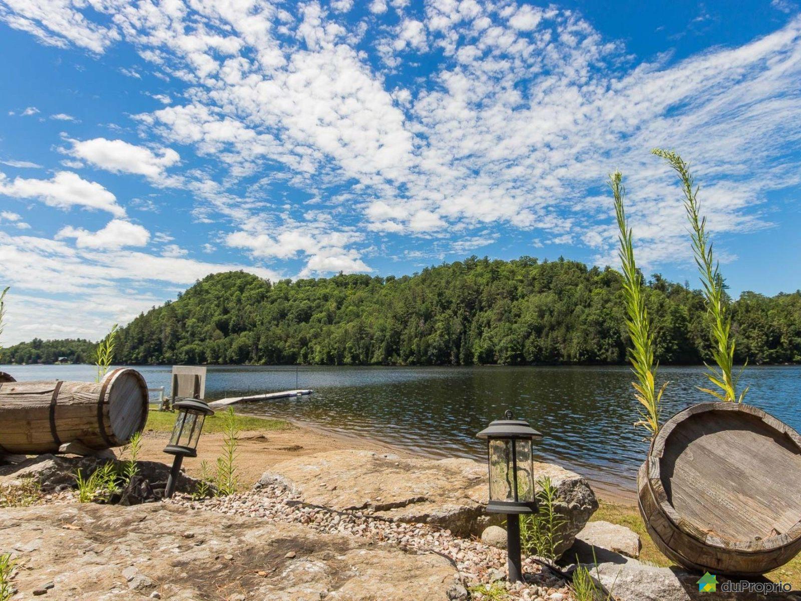 River - Chemin des Hautes-Chutes, Val-Des-Bois for sale