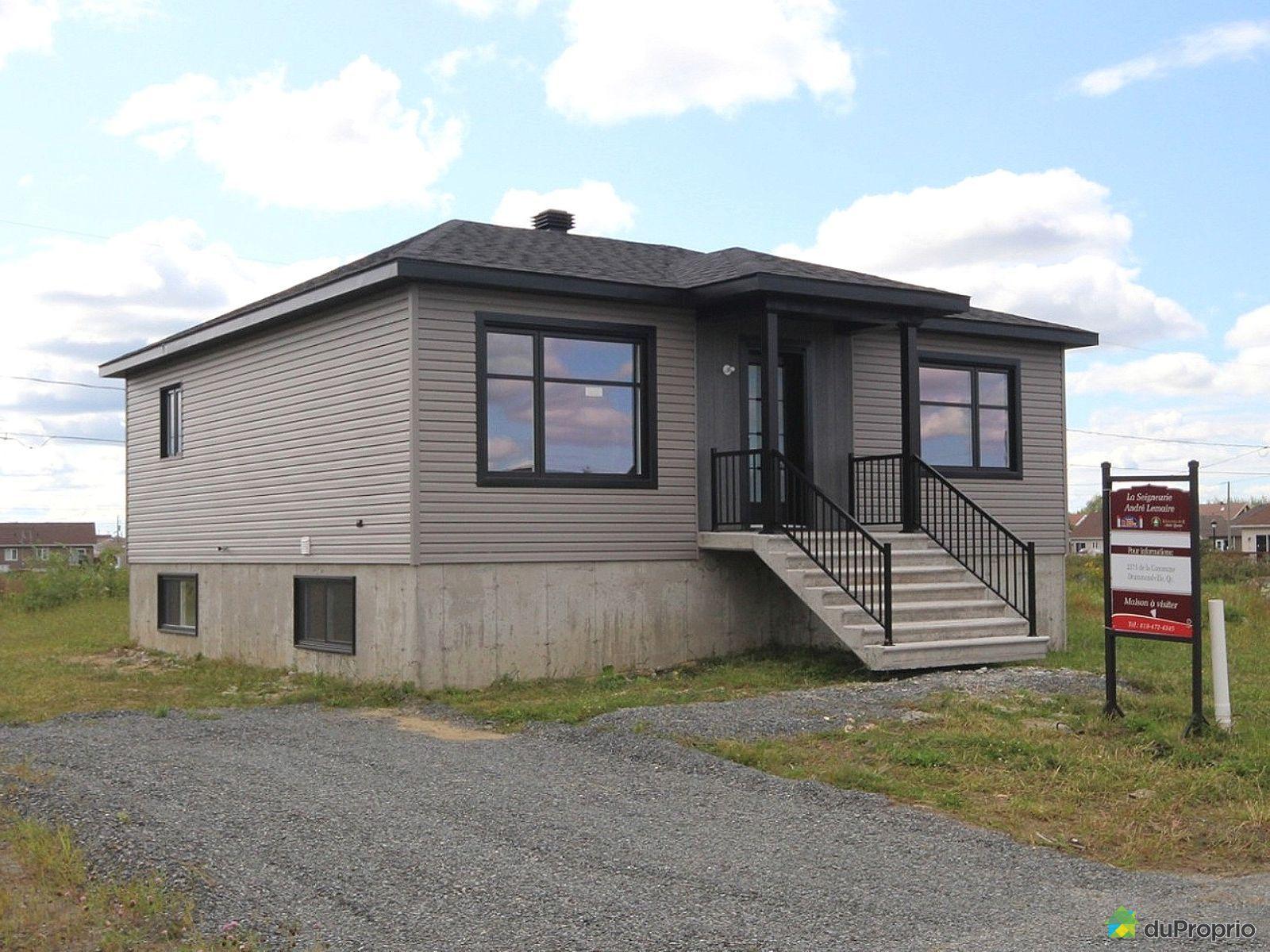 rue du Tenancier - Modèle à construire - Par les Habitations André Lemaire, Drummondville (Drummondville) à vendre