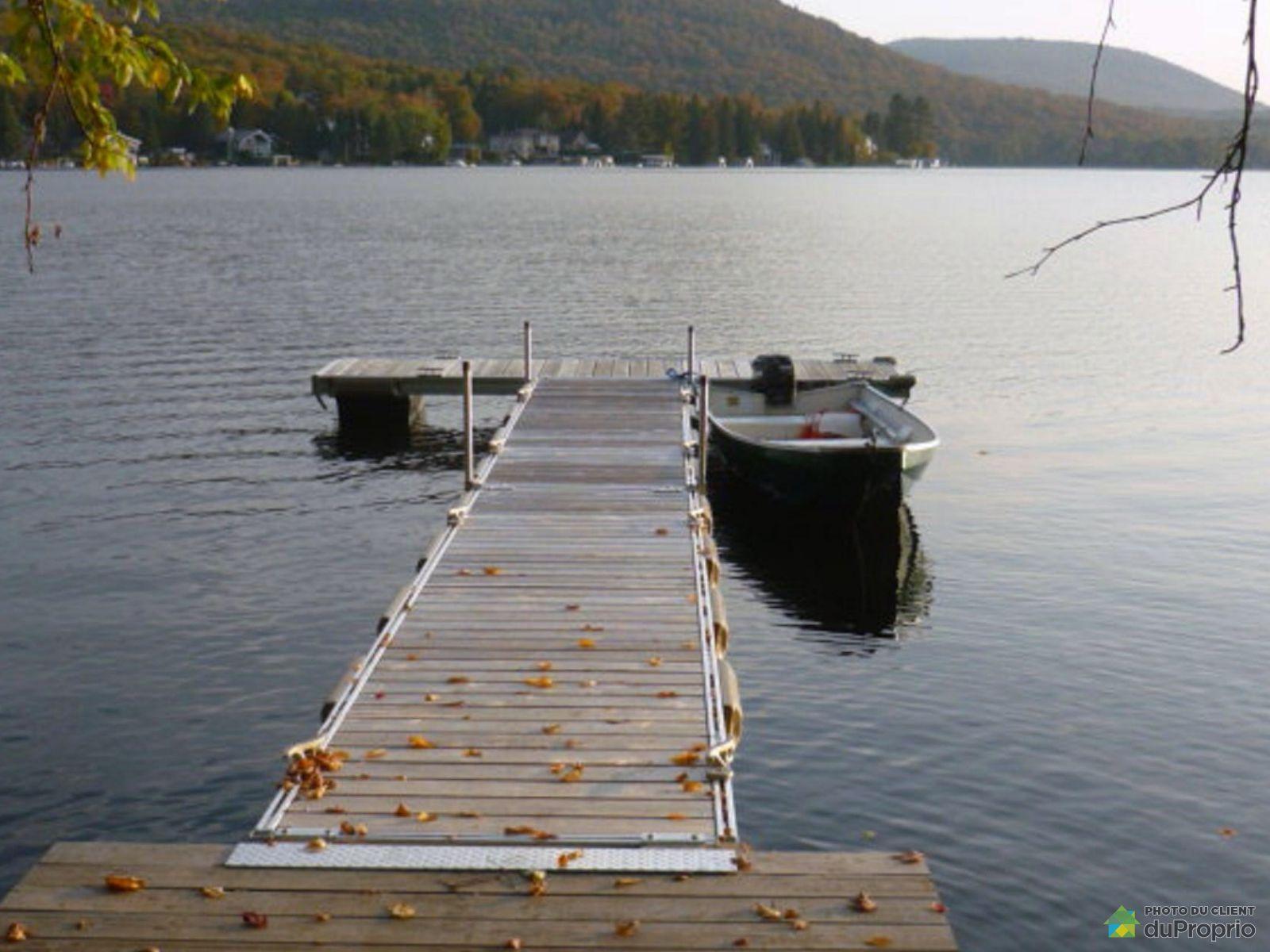 Deck - chemin du Lac-Sept-Îles, St-Raymond for sale