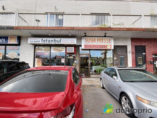 6499-6495-6497, rue Beaubien Est, Rosemont / La Petite Patrie à vendre