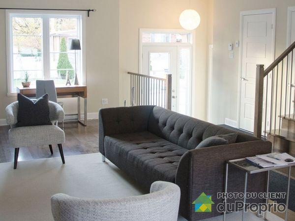Living Room - 14501 rue Bernard-Geoffrion - Maison de ville B2-1 - Projet Pointe Est, Pointe-Aux-Trembles / Montréal-Est for sale
