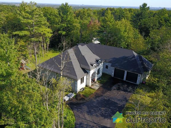 Aerial View - 32 rue des Poiriers, Cantley for sale