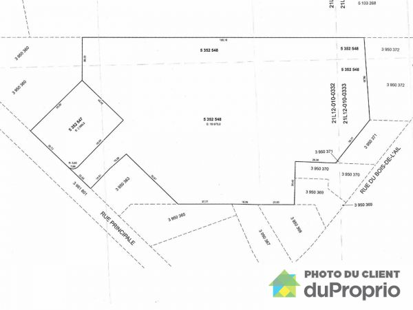 Lot - 173 rue Principale, St-Flavien for sale