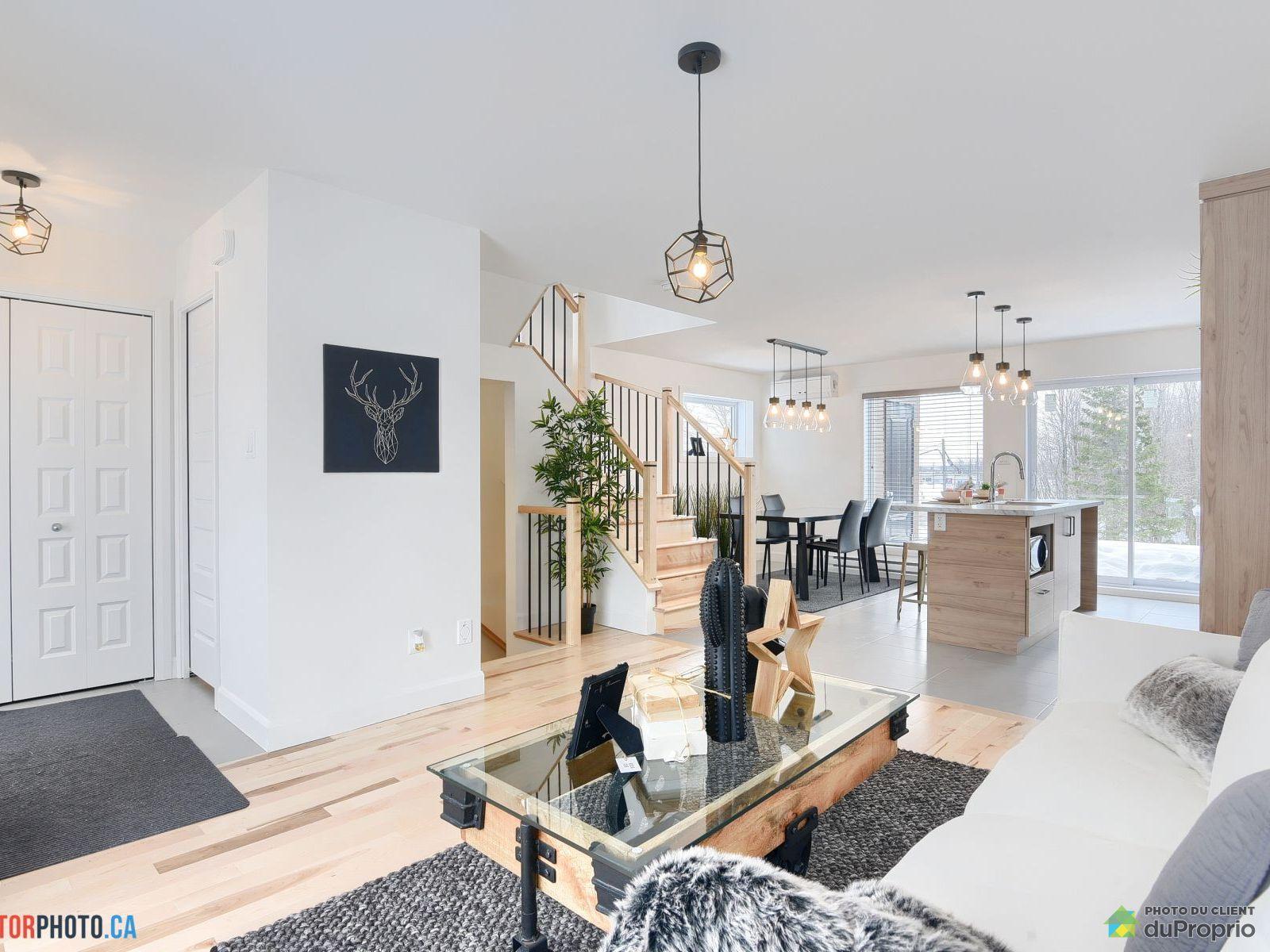 Aire ouverte - 5937, boulevard Saint-Jacques - Hameau Saint-Jacques (modèle 3 étages), Neufchatel à vendre