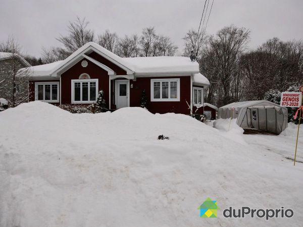 Winter Front - 14 rue des Sucreries, Fossambault-Sur-Le-Lac for sale