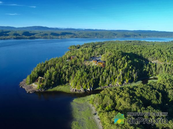 Aerial View - 700 rue du Ruisseau-Lachance, Chicoutimi (Chicoutimi) for sale