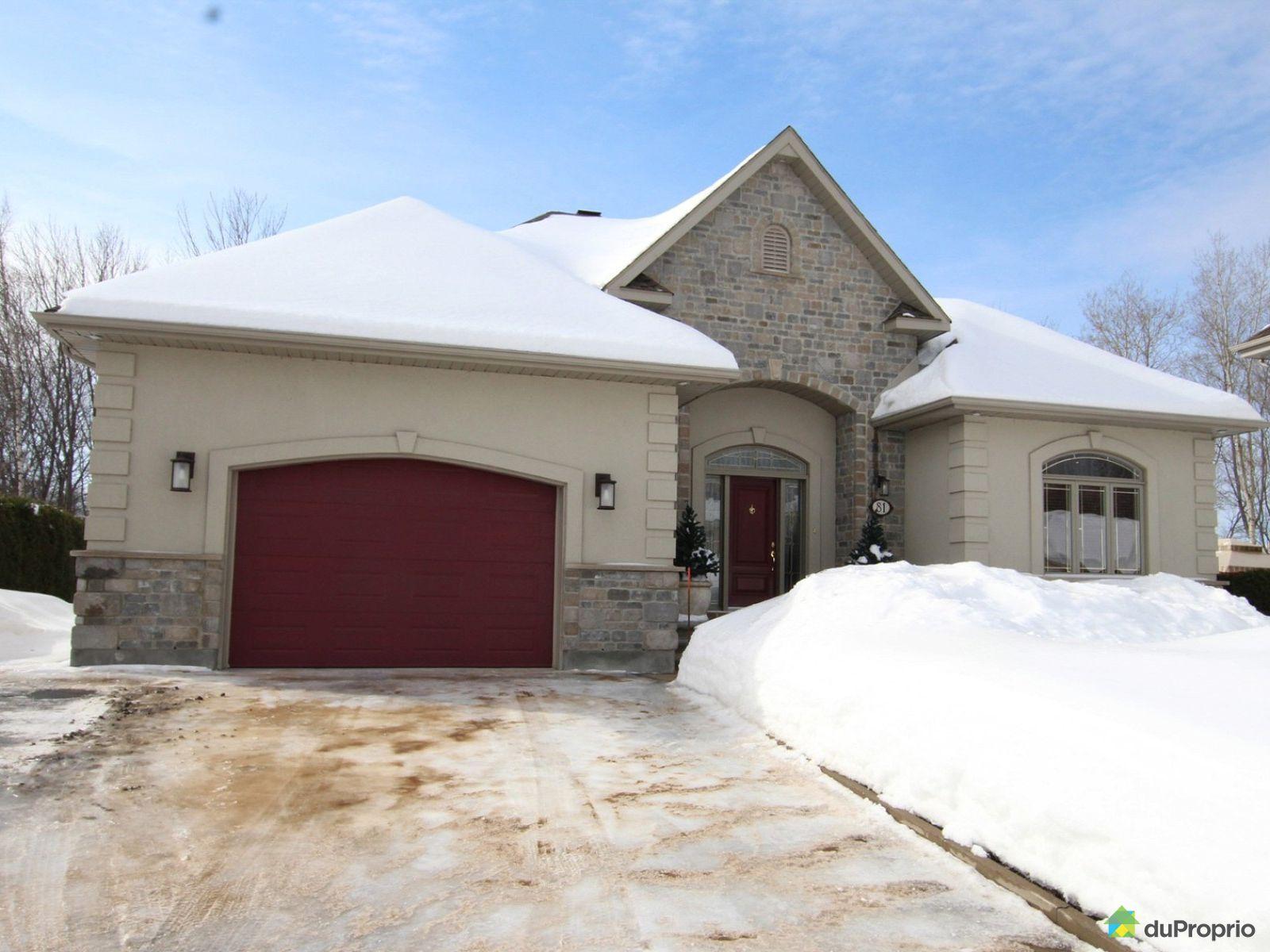 Winter Front - 81 rue des Jardins-du-Golf, Trois-Rivières (Ste-Marthe-Du-Cap) for sale