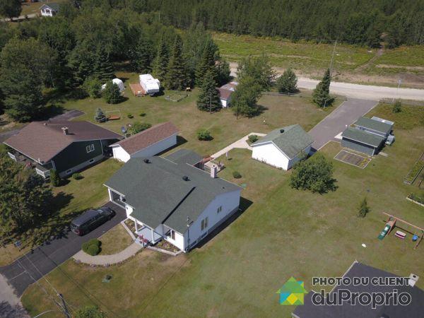 Aerial View - 161 rue de la Pointe, Dolbeau-Mistassini for sale