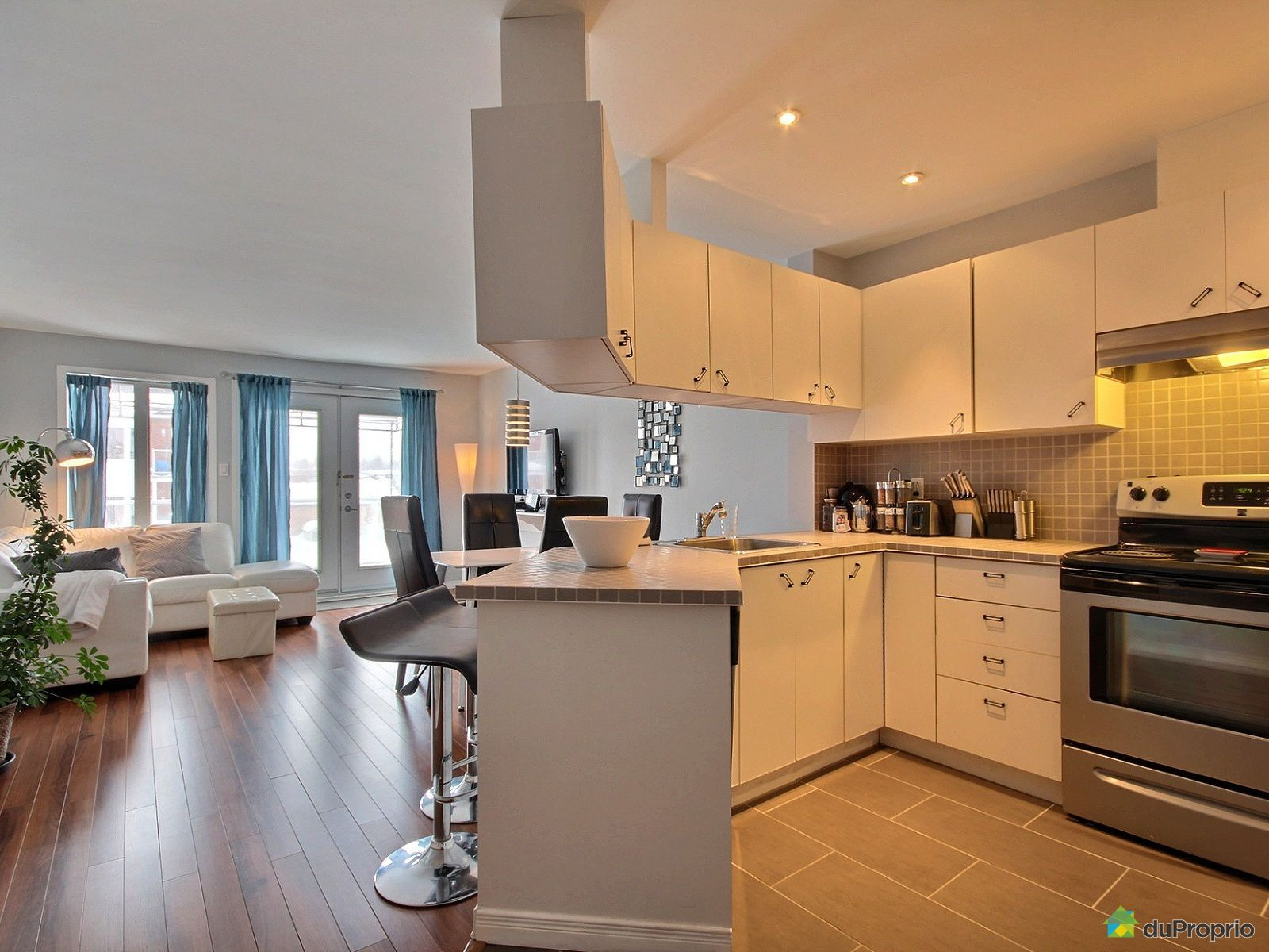 Kitchen - 301-1406 rue Esther-Blondin, Cap-Rouge for sale