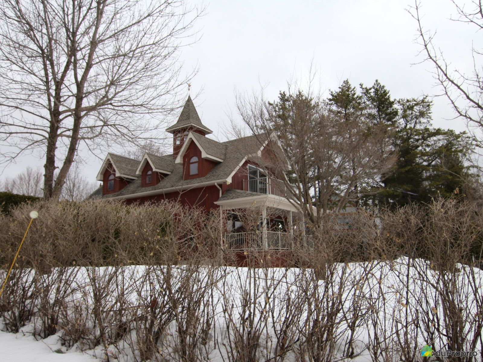 Overall View - 91 chemin des Sapins, Ste-Thecle for sale