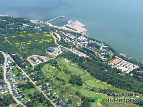 Lot - 940 Chemin des Falaises, La Malbaie for sale