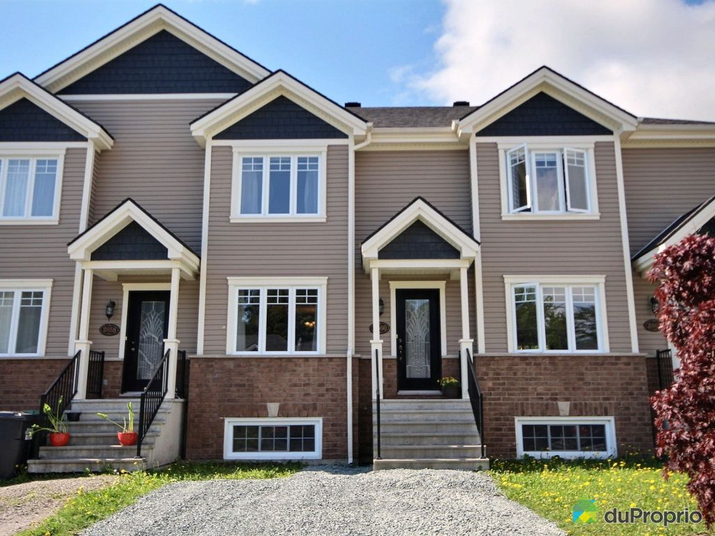 Maisons en rangée de ville à vendre sherbrooke mont bellevue