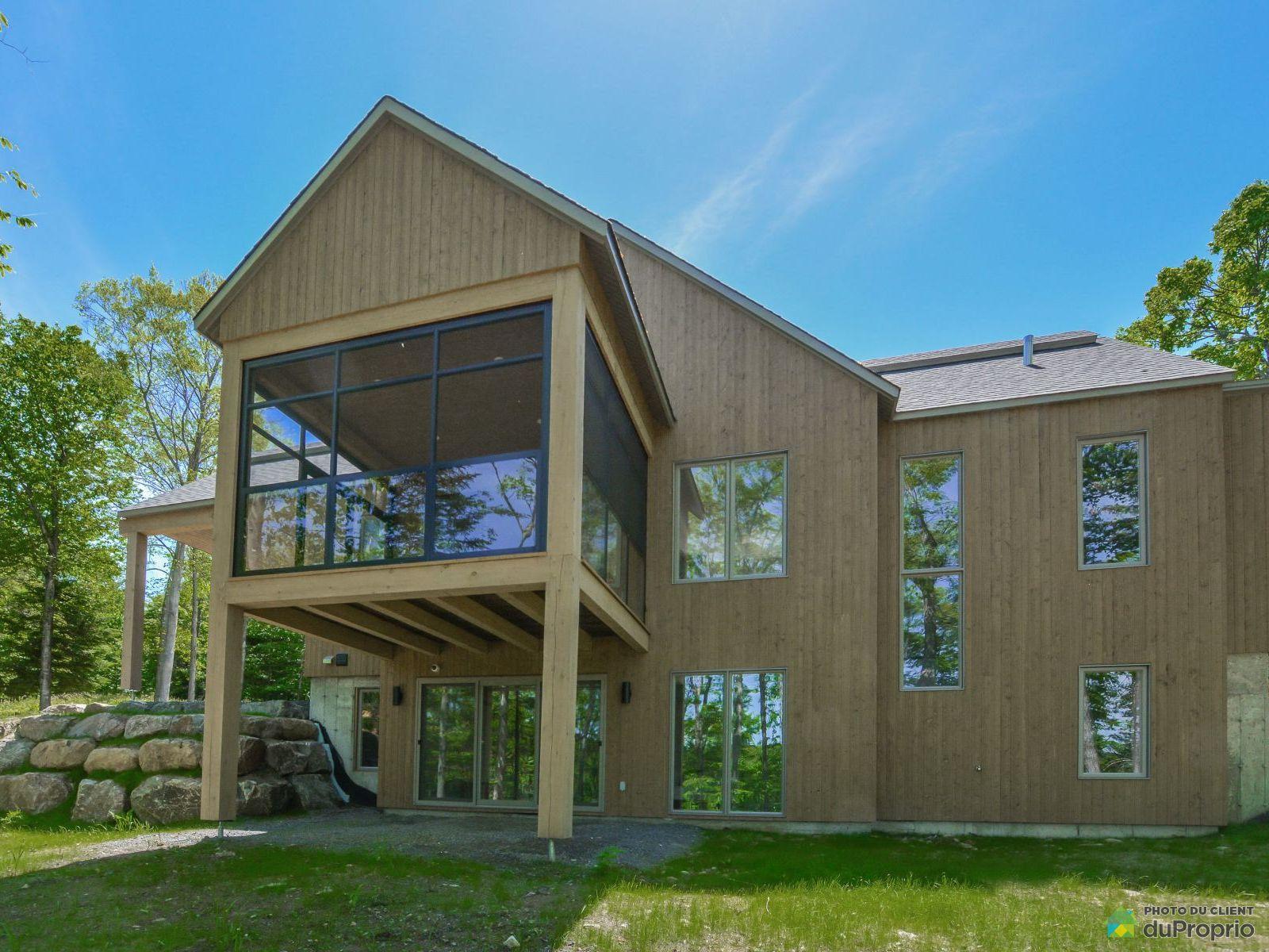 Rear View - 15 rue du Refuge - Projet La réserve - Par Les Constructions Raymond & Fils, Morin-Heights for sale