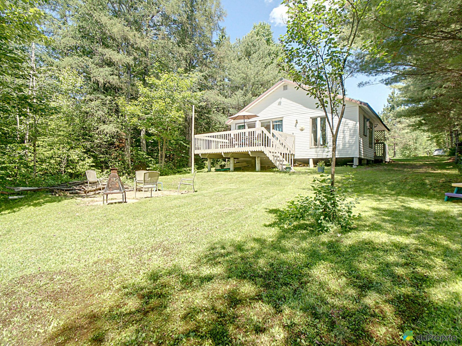 Lake Access - 215 rue Lavoie, St-Raymond for sale
