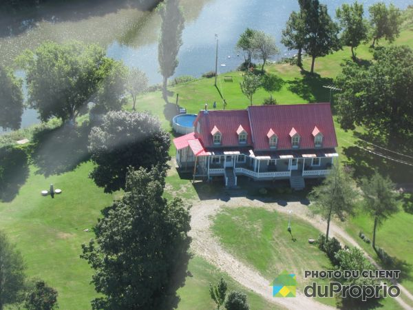 Aerial View - 1400 rang Nord, St-Pierre-De-La-Riviere-Du-Sud for sale