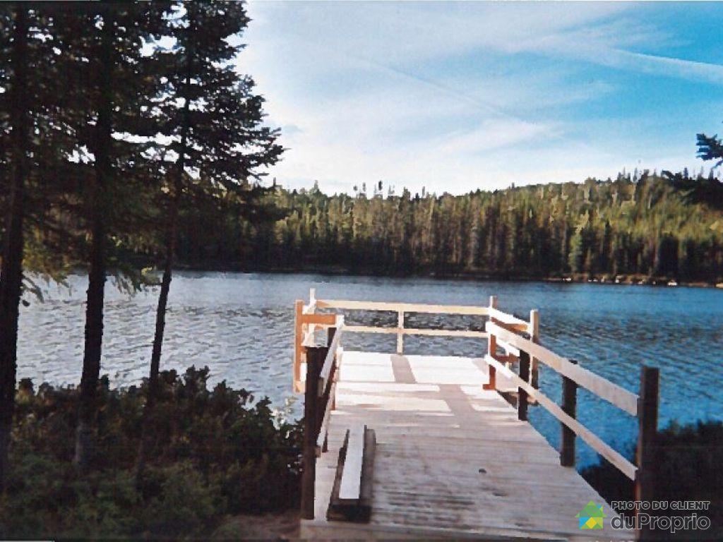 Quai - Lac Fumel, Réserve faunique Ashuapmushuan à vendre