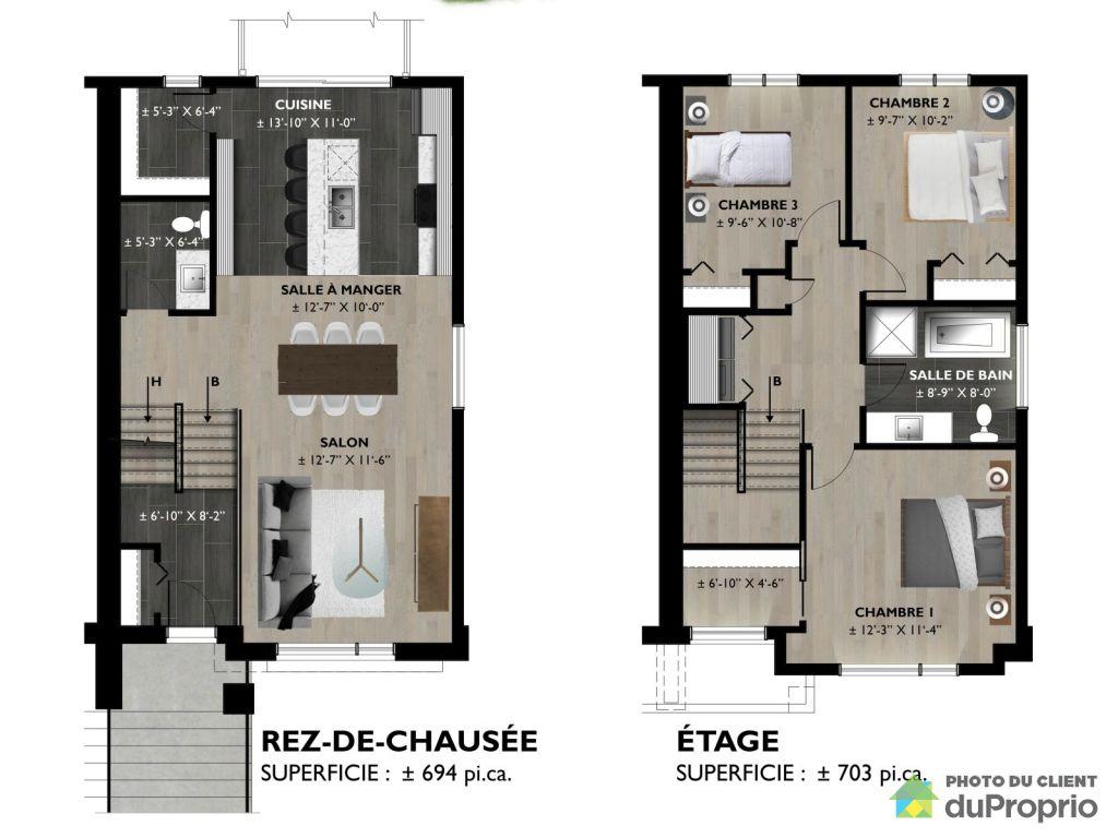 Projet Jardins Du Coteau Le Lenium 2 Cottage Construire Par
