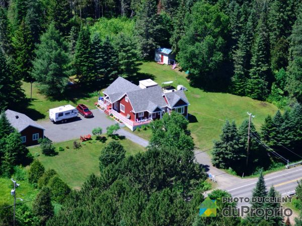 Aerial View - 1770 route 125 Sud, St-Donat for sale
