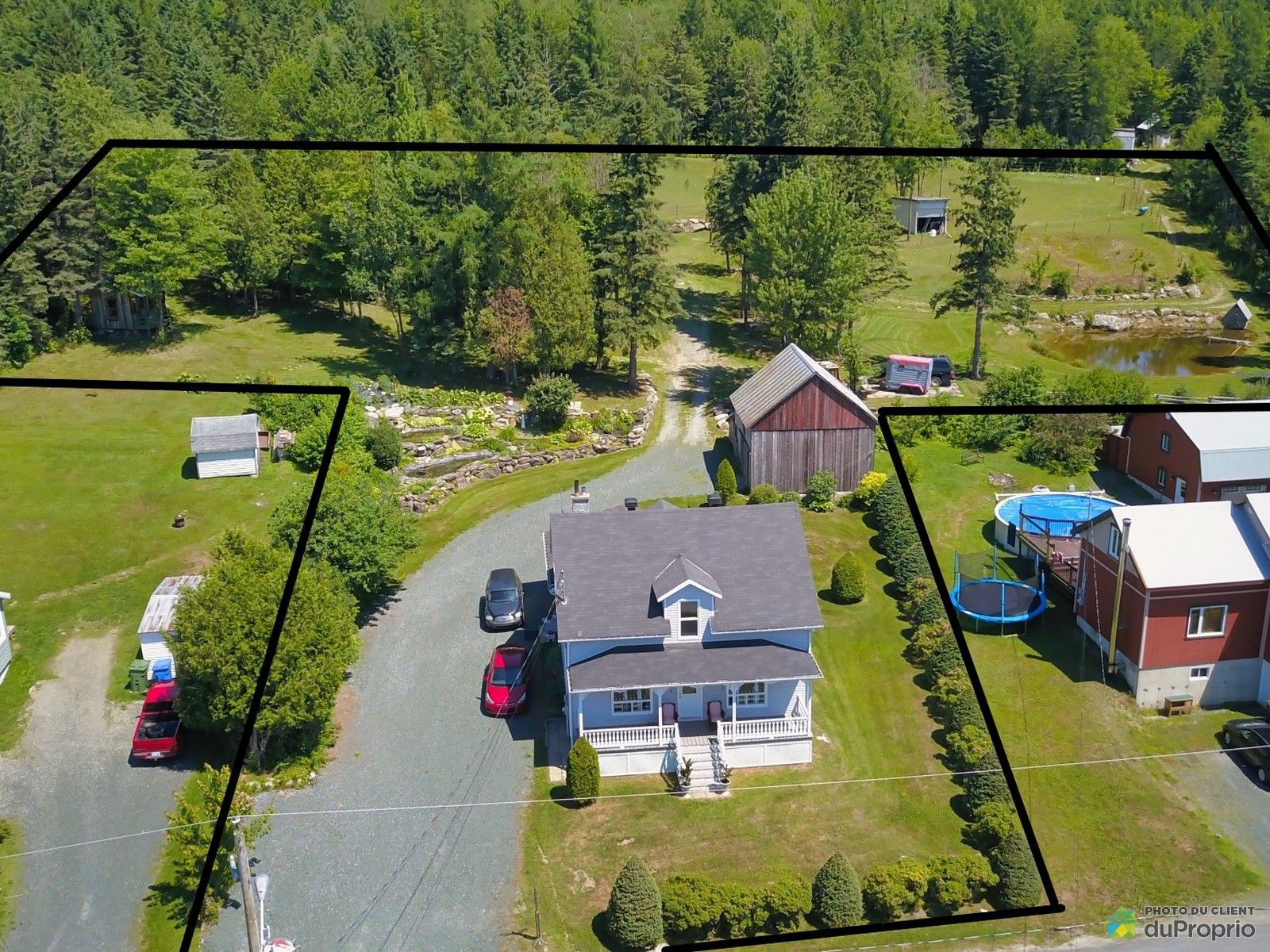 Overall View - 545 1re Avenue, St-Malachie for sale