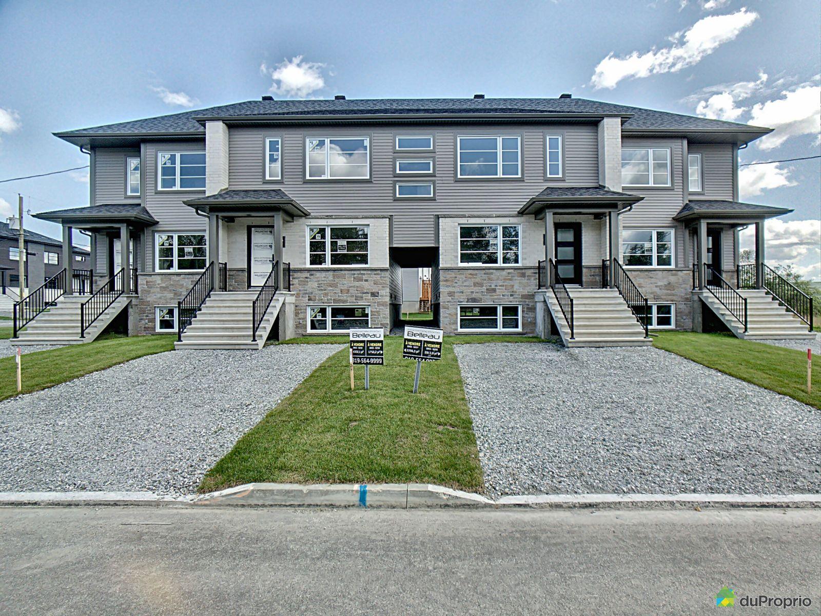 rue Besner - Orée du Parc Central - Par les Constructions Christian Belleau, Sherbrooke (Rock Forest) à vendre