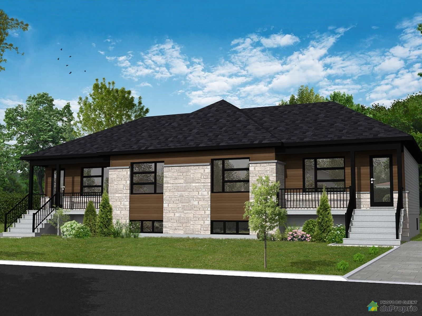 465, avenue Curry - Modèle Le Hammond - Par les Habitations RB, Hemmingford à vendre