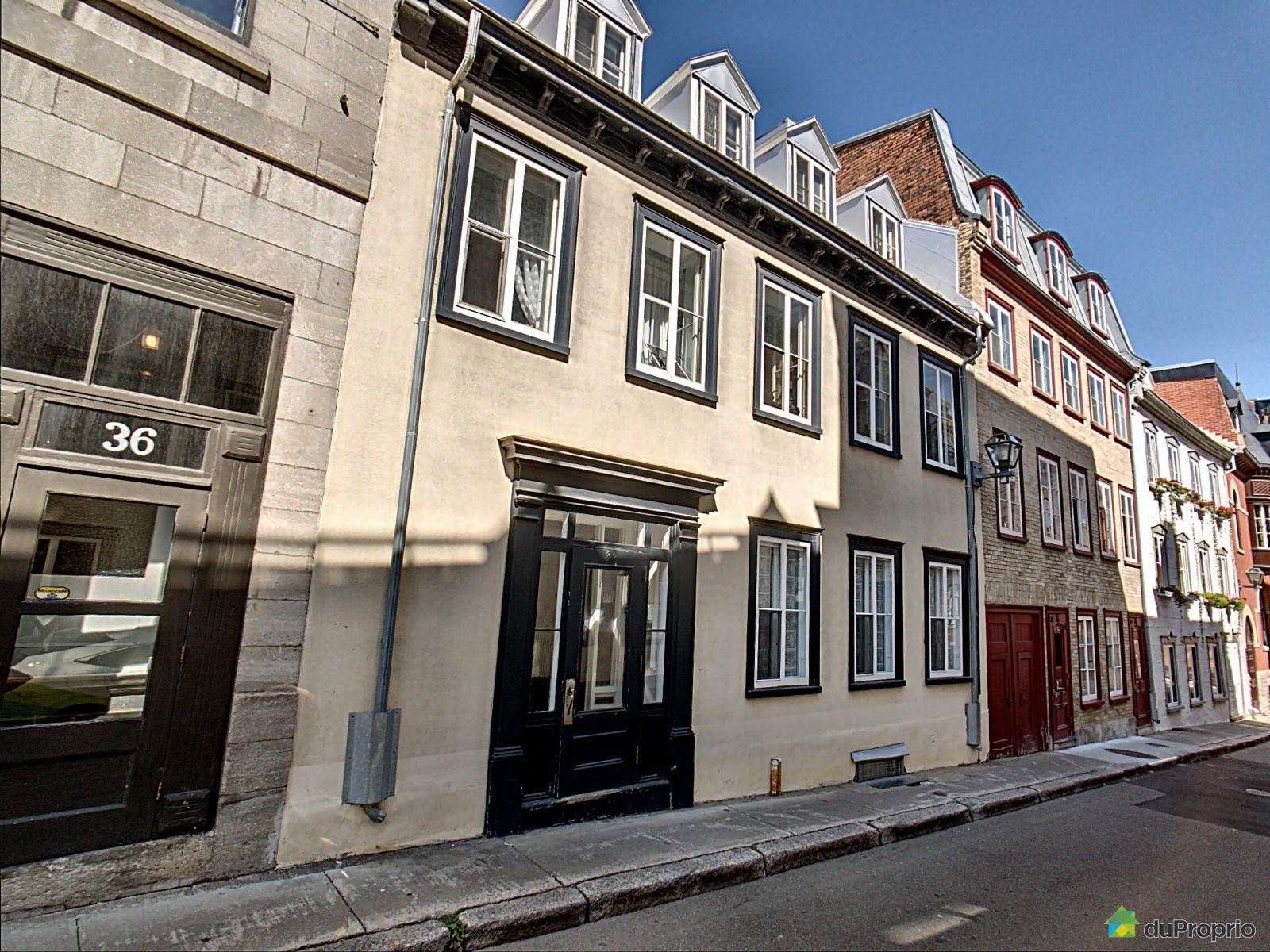 1-34 rue couillard, vieux-québec for sale duproprio