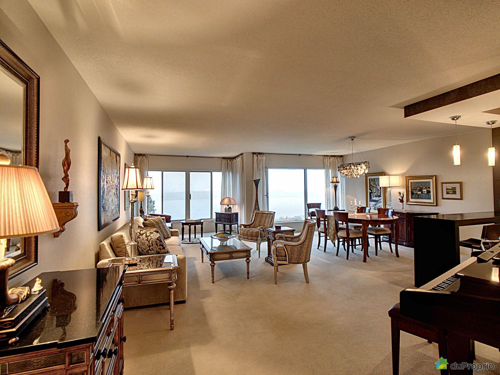 Living / Dining Room - 634-16 rue des Jardins-Mérici, Montcalm for sale