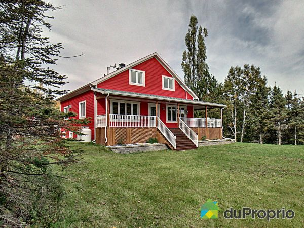 Backyard - 111 chemin de la Rivière-Mitis Nord, Ste-Angèle-De-Merici for sale