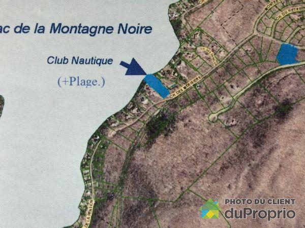 , Montée de la Baie, Lantier à vendre