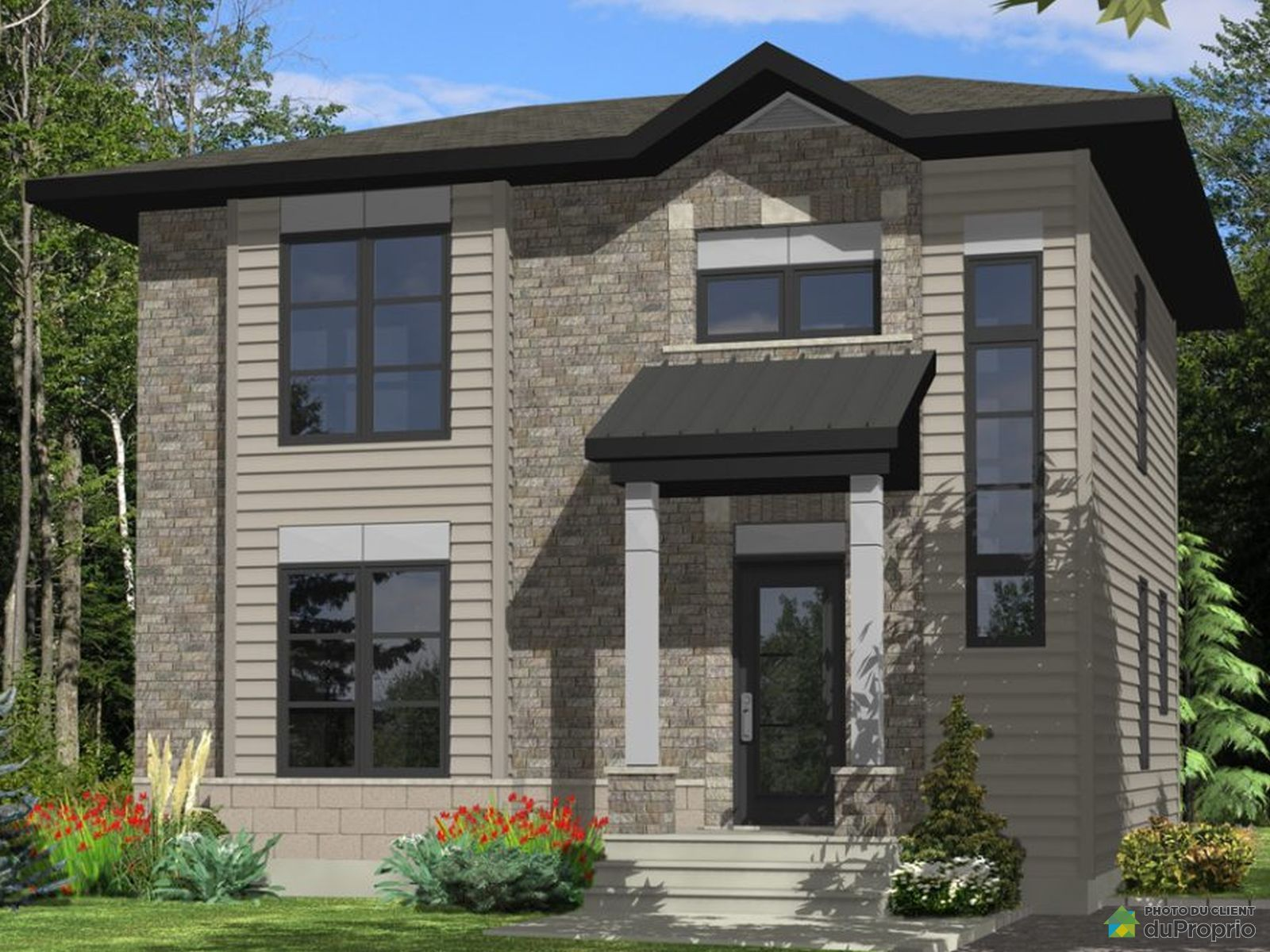 31, rue Bellevue - Par Construction C.R.D inc., Ste-Catherine-de-la-JC à vendre