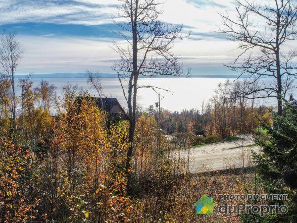 Vue sur le fleuve - Domaine du Massif, lot 62 chemin du plateau, Petite-Rivière-St-François à vendre