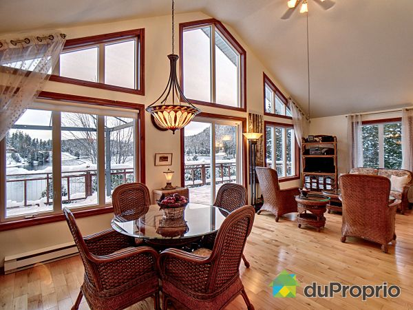 Living / Dining Room - 234 chemin du Lac Brochet, St-David-de-Falardeau for sale