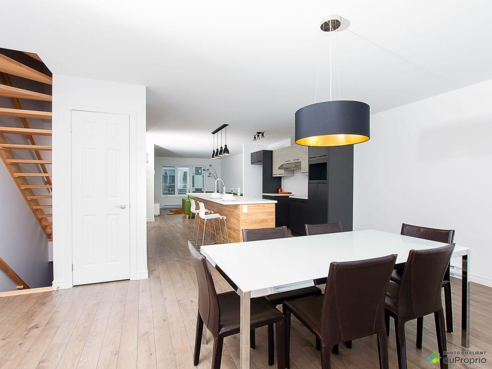 Aire ouverte - 331, avenue du Sous-Bois - Condo le Littoral PHASE 3 - Par Habitation Canadienne, Beauport à vendre