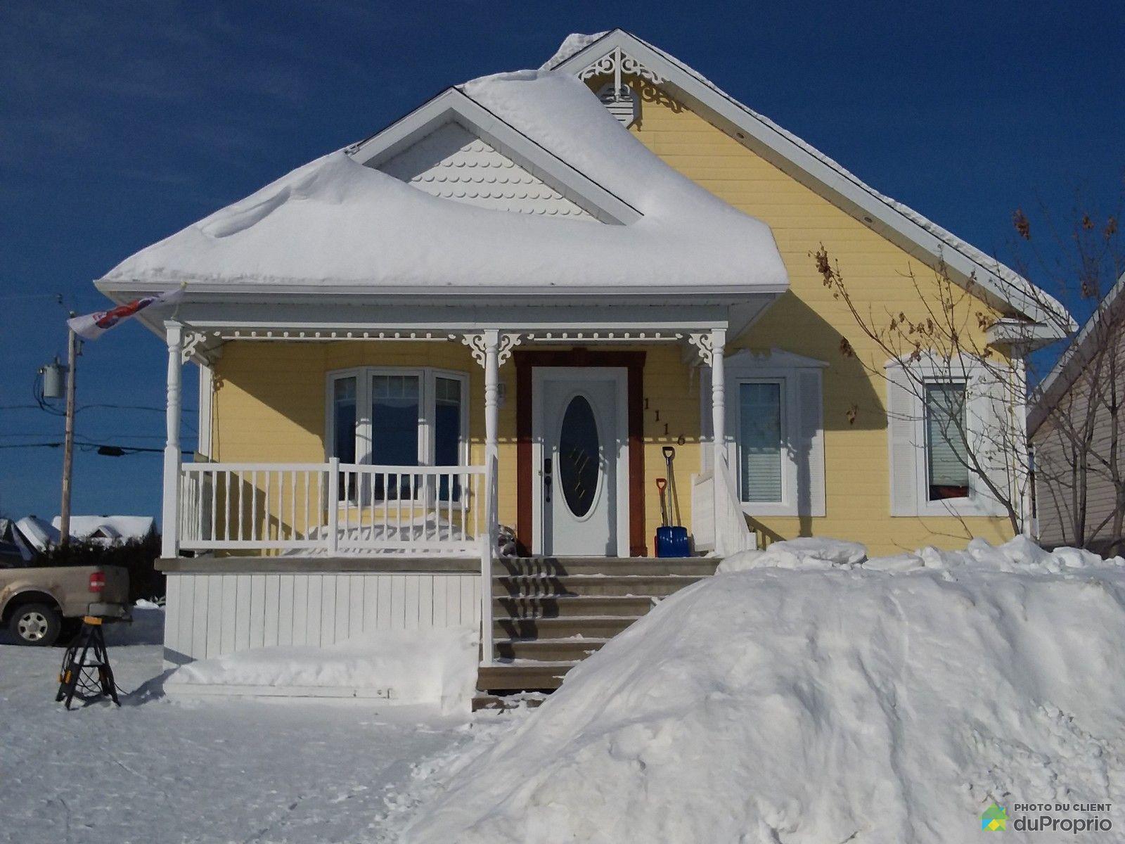 Winter Front - 1116 rue Philomène-Savard, St-Félicien for sale