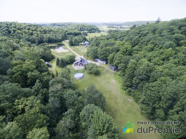 Aerial View - 171 chemin de la Montagne-Coupée, St-Jean-De-Matha for sale